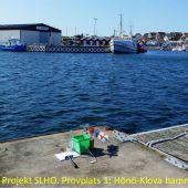 Projekt SLHO. Provplats 1. Utsättningsbryggan.